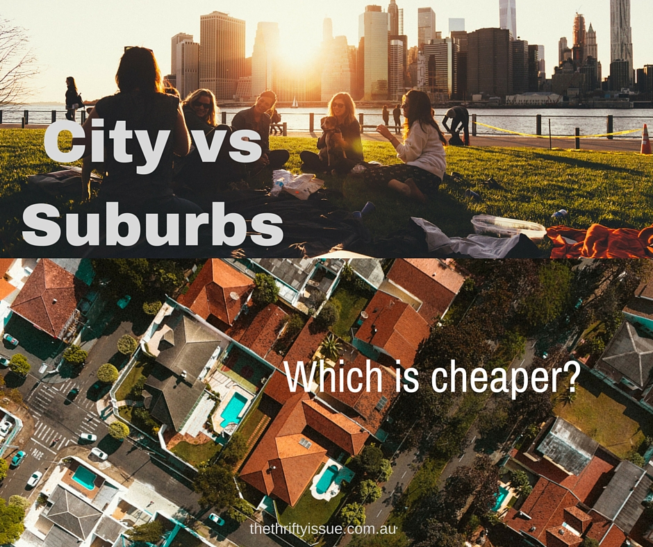 What's Cheaper – City Living, Suburbs or Country?