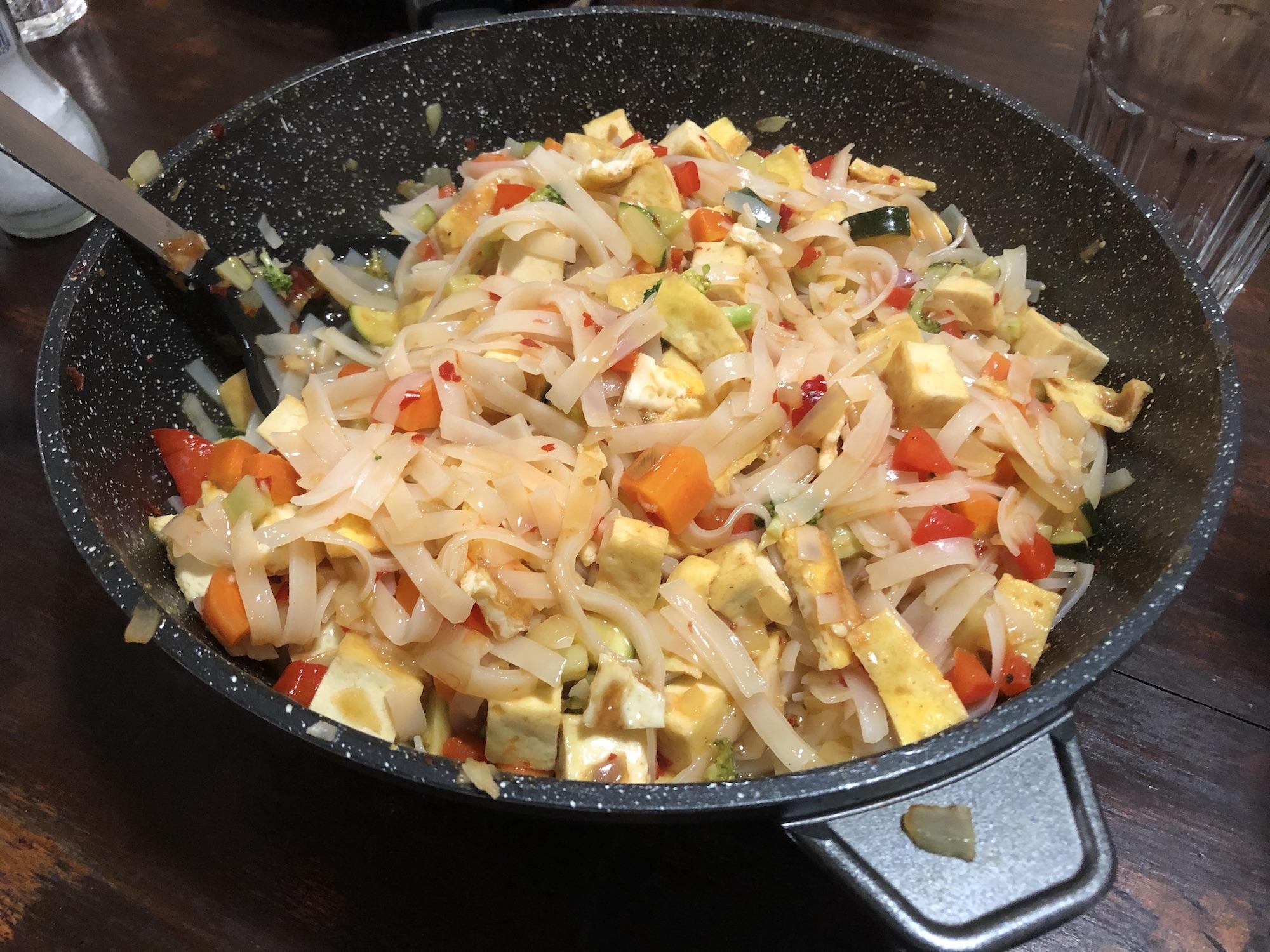 Vegetarian Sweet Chilli Stir Fry